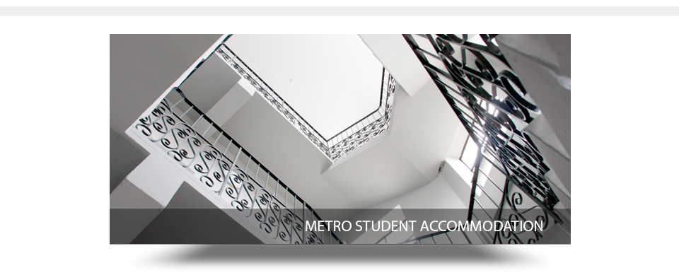 Metro Student Accommodation Stairs